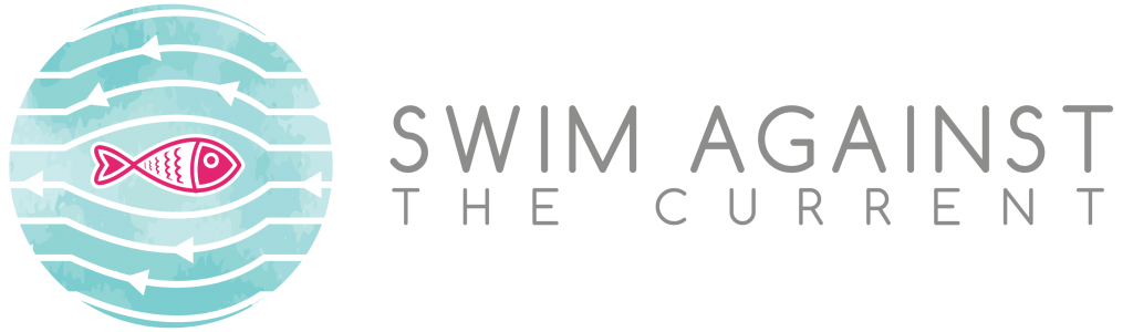 Swim Against Logo_Gray