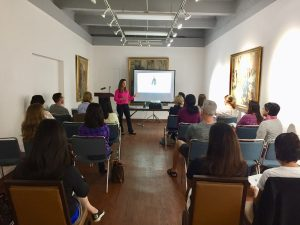 Business and leadership workshops with Amy Sanchez