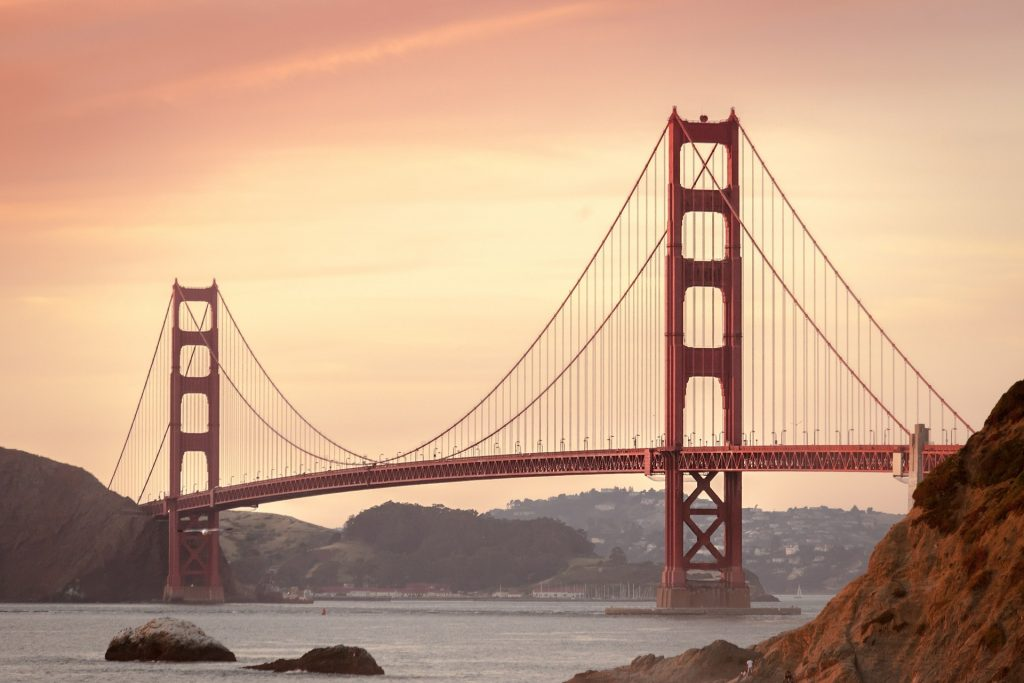 Golden Gate Bridge - Bay Area main artery for commuters